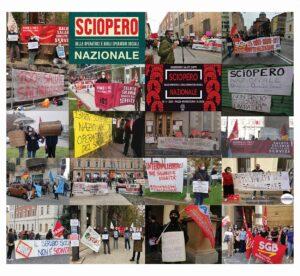 Read more about the article RIUSCITISSIMO LO SCIOPERO GENERALE E NAZIONALE del 13 Novembre 2020 DELLE OPERATRICI E OPERATORI SOCIALI