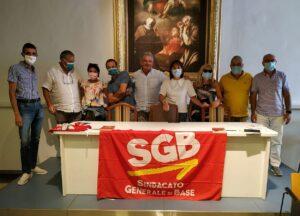 Read more about the article Congresso SGB Puglia, al lavoro per crescere