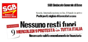 Read more about the article Scuola. Internalizzazione ex lsu. Il bando in arrivo. Pochi posti, migliaia di lavoratori a casa