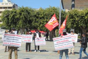 Messina, SGB con i lavoratori dello Sri Lanka in protesta