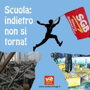 Read more about the article Scuola: uscire dalla logica dell'emergenza,  indietro non si torna!