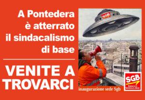 Read more about the article A Pontedera è atterrato il sindacalismo di base