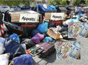 """Read more about the article Agrigento e Favara. SGB. """"Il dramma e gli interessi sulla spazzatura. Si ridiscutano gli appalti milionari"""""""