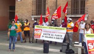 Read more about the article RAVENNA: SCIOPERO DEI LAVORATORI SOVIA ALLA MARCEGAGLIA PER LA LEGALITÀ<br><br>